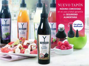Nueva crema de vinagre balsámico de Pedro Ximénez y nuevo tapón-pincel de cremas